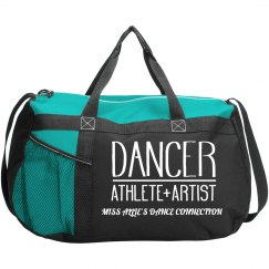 DANCER ATHLETE AND ARTIST DUFFLE