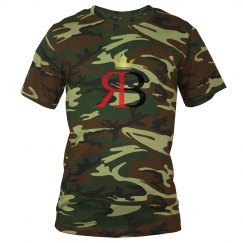 Unisex Red Bottoms Camo Tee