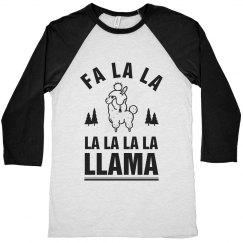 Christmas Fa La La Llama