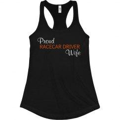 Proud Racecar Driver Wife