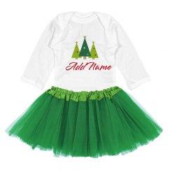 Cute Christmas Baby Outfit Custom