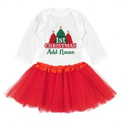 Baby's First Christmas Add Name