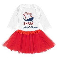 Christmas Baby Shark Add Name