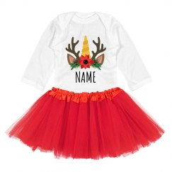 Add Name Creative Christmas Outfit