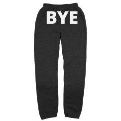 BYE running sweatpants