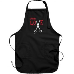 Cosmo Love Black Apron