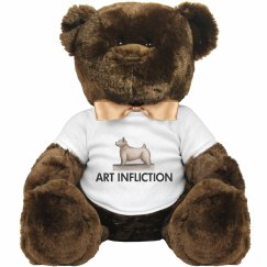 Art Infliction Dog Stuffed Animal