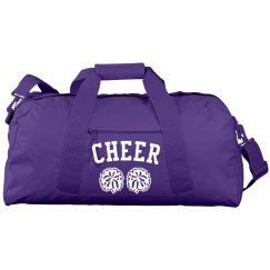 Simple Cheer With Pom Poms