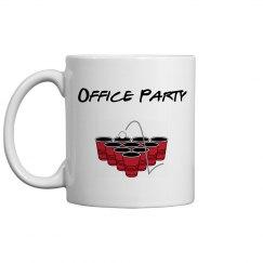 Office Party Mug