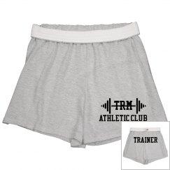Athletic Shorts w/Back