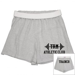 Athletic Shorts w/Back