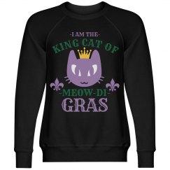 King Cat Of Mardi Gras