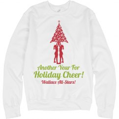 Year of Holiday Cheer Cheerleader Christmas Sweater