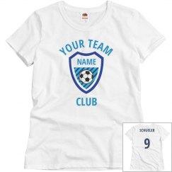 Budget Custom Ladies Soccer Jersey