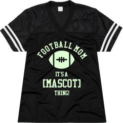 Football Mom Glow In The Dark