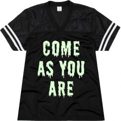 Glow In Dark Grunge Lyric Jersey