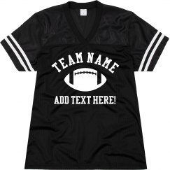 Custom Football Fan Jersey