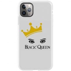 Black Queen iphone 11 Pro Max phone case