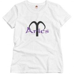 Aries in purple