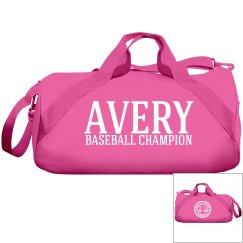 Avery, Baseball Champ