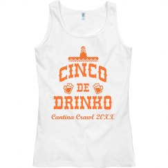 Cinco De Mayo Group Drinking Tanks