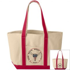 Red Rock West Saloon Boat Tote