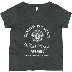 Custom Women's Plus Size Shirts