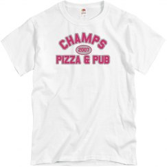 Champs 3 - White, Hot Pink & Grey