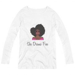 She Drama Free Black Woman