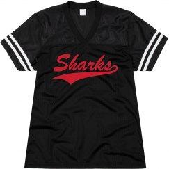 Jacksonville sharks shirt.