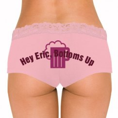 Hey Eric, Bottoms Up