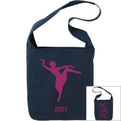 Zoey. Ballet bag