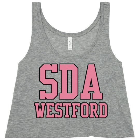 05739d87d65af SDA Westford Crop Top-Adult Ladies Flowy Boxy Cropped Tank Top  Spotlight  Dance Academy Dancewear