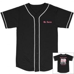 Baseball Jersey - Black