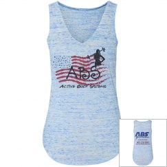 Active Body Systems- Ladies Flow tank top