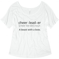 Definition of Cheerleader