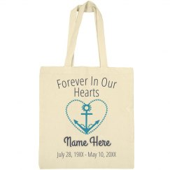 Navy Memorial Tote Bag