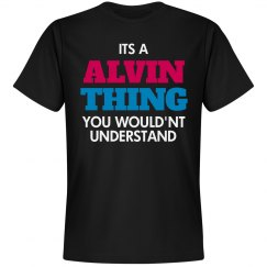 Alvin thing