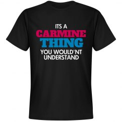 Carmine thing