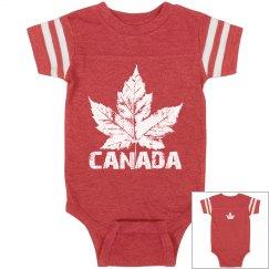 Canada Souvenir Baby Bodysuit Cool