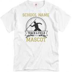 Custom School & Mascot Track Tee