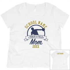 Track Mom Custom School Tee