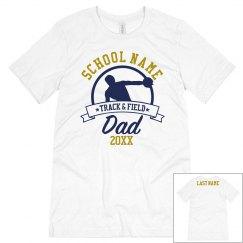 Track Dad Custom School Tee