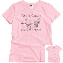 Tennis Captain/Cat Herder