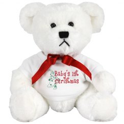Baby 1st Christmas Bear