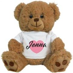 Name & Heart Bear
