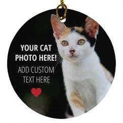 Custom Cat Photo Gift