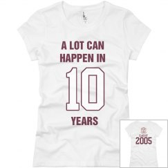 10 YEAR CLASS REUNION