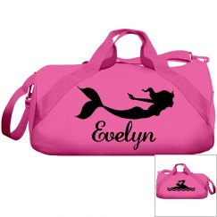 Evelyn's swimming bag