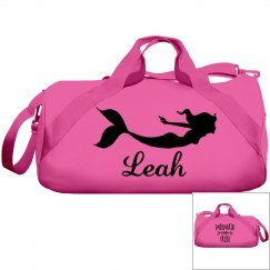 Leah's swimming bag